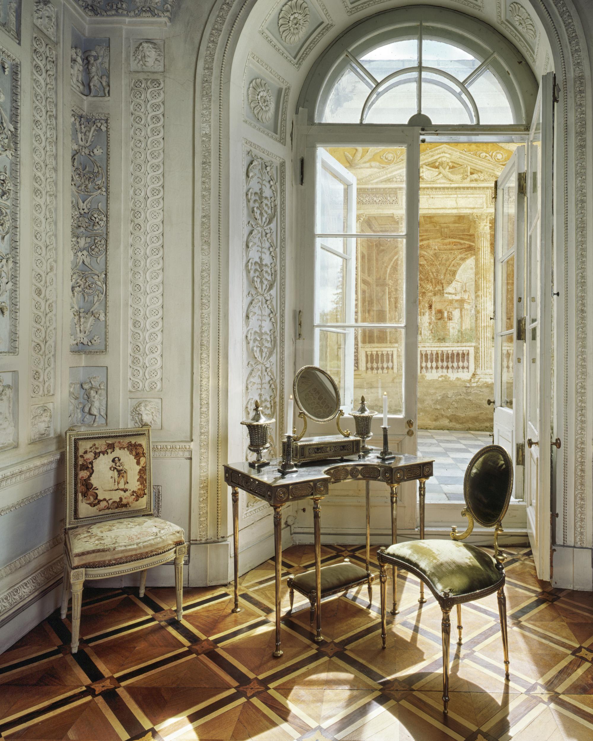Pavlovsk Palace, Cabinet of Maria Feodorovna - Saint-Petersburg , Russia (1995)