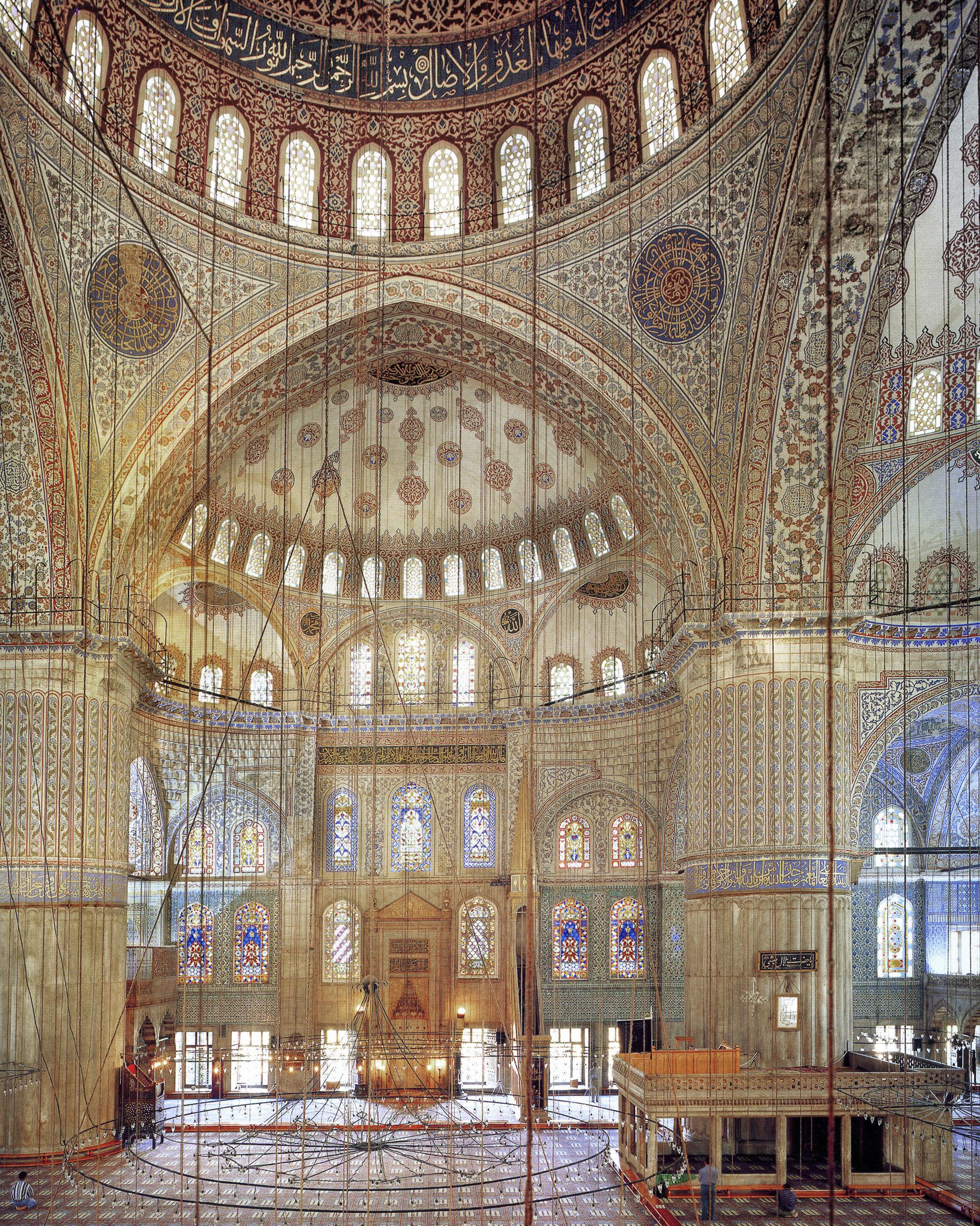 Blue Mosque - Istanbul, Turkey 1997