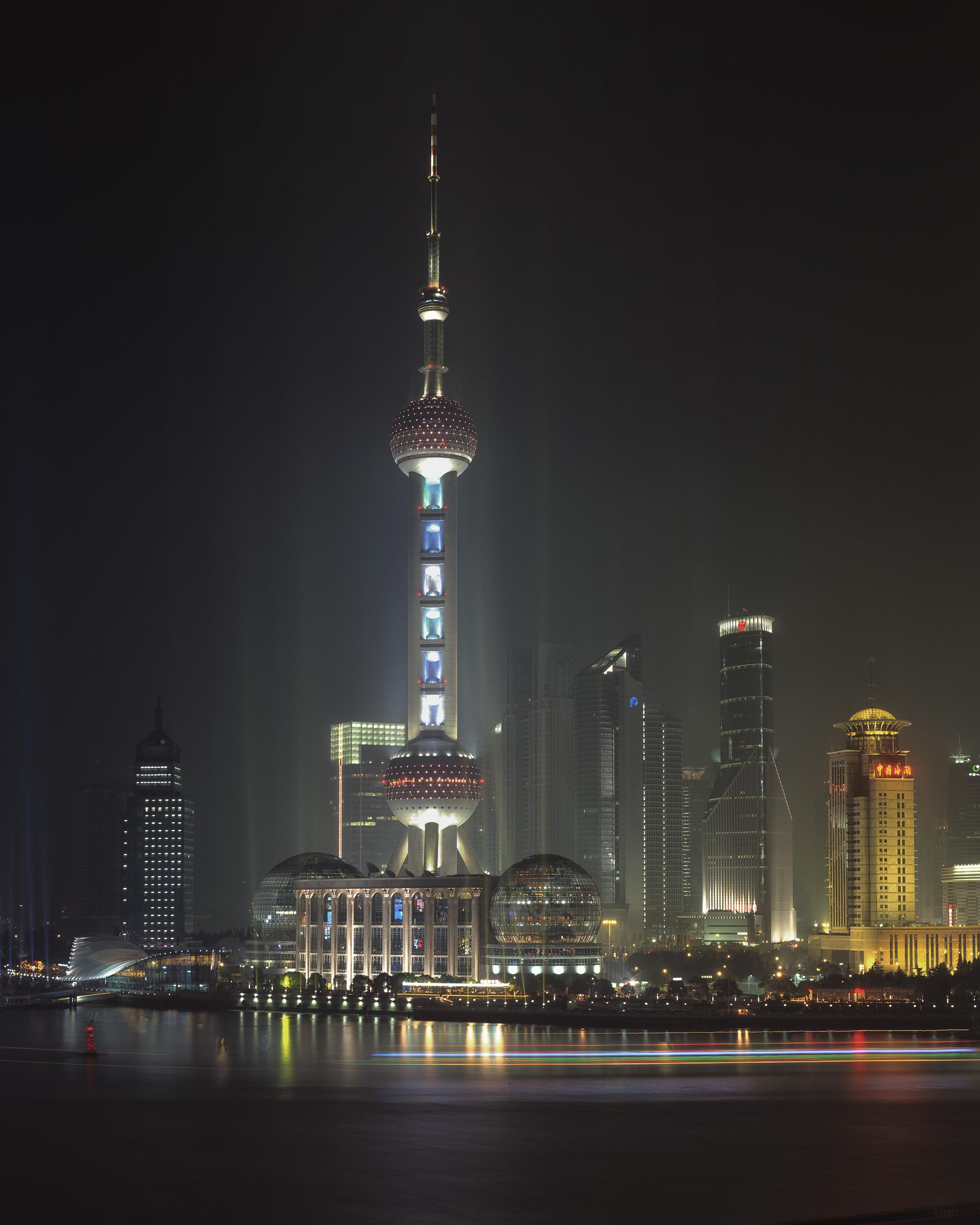Pearl Tower - Shanghai, China 2003