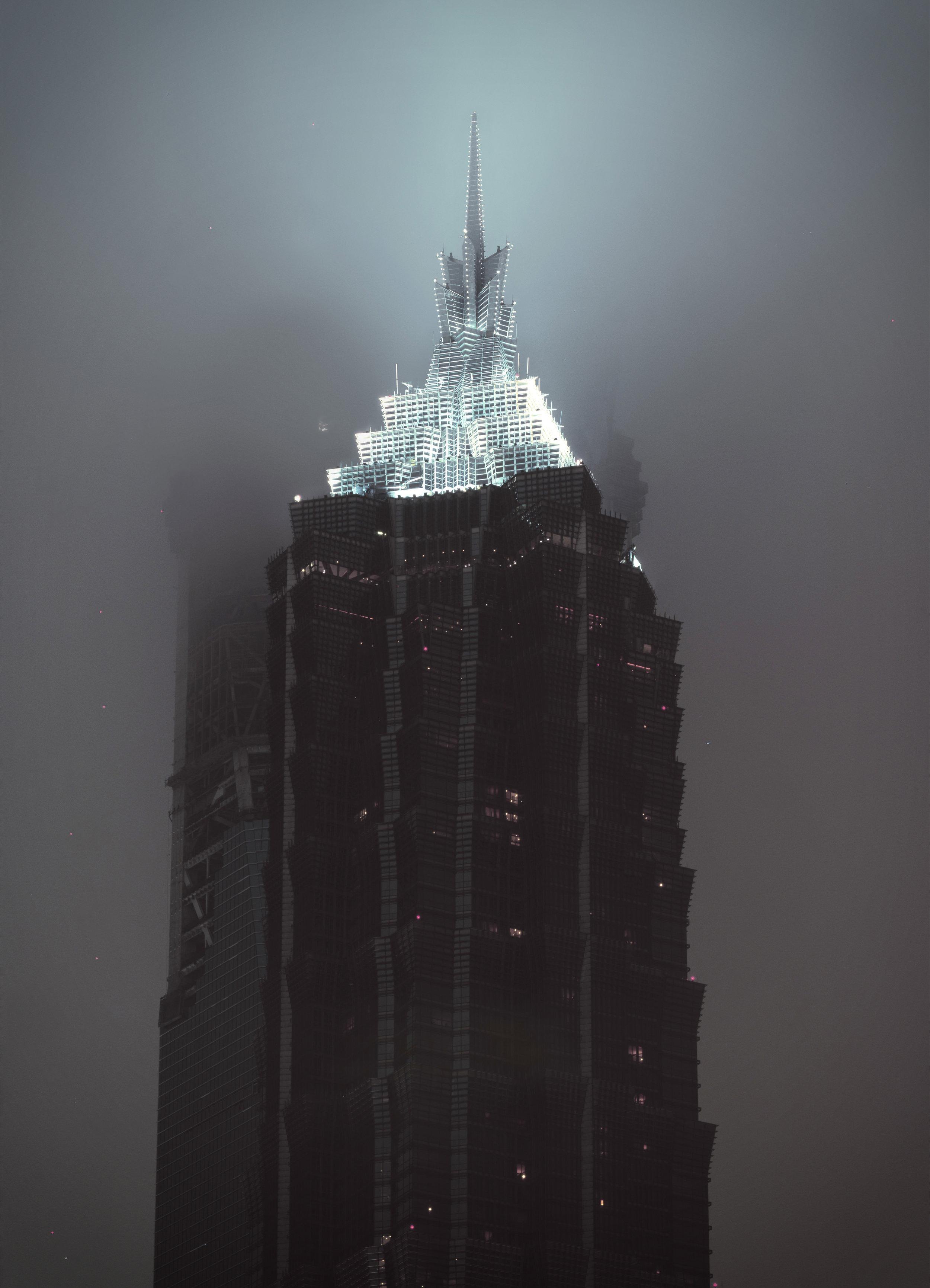 Top Jin Mao Tower - Shanghai, China 2002
