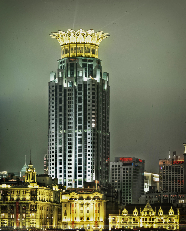 Top Westin Bund Center Tower - Shanghai, China 2003