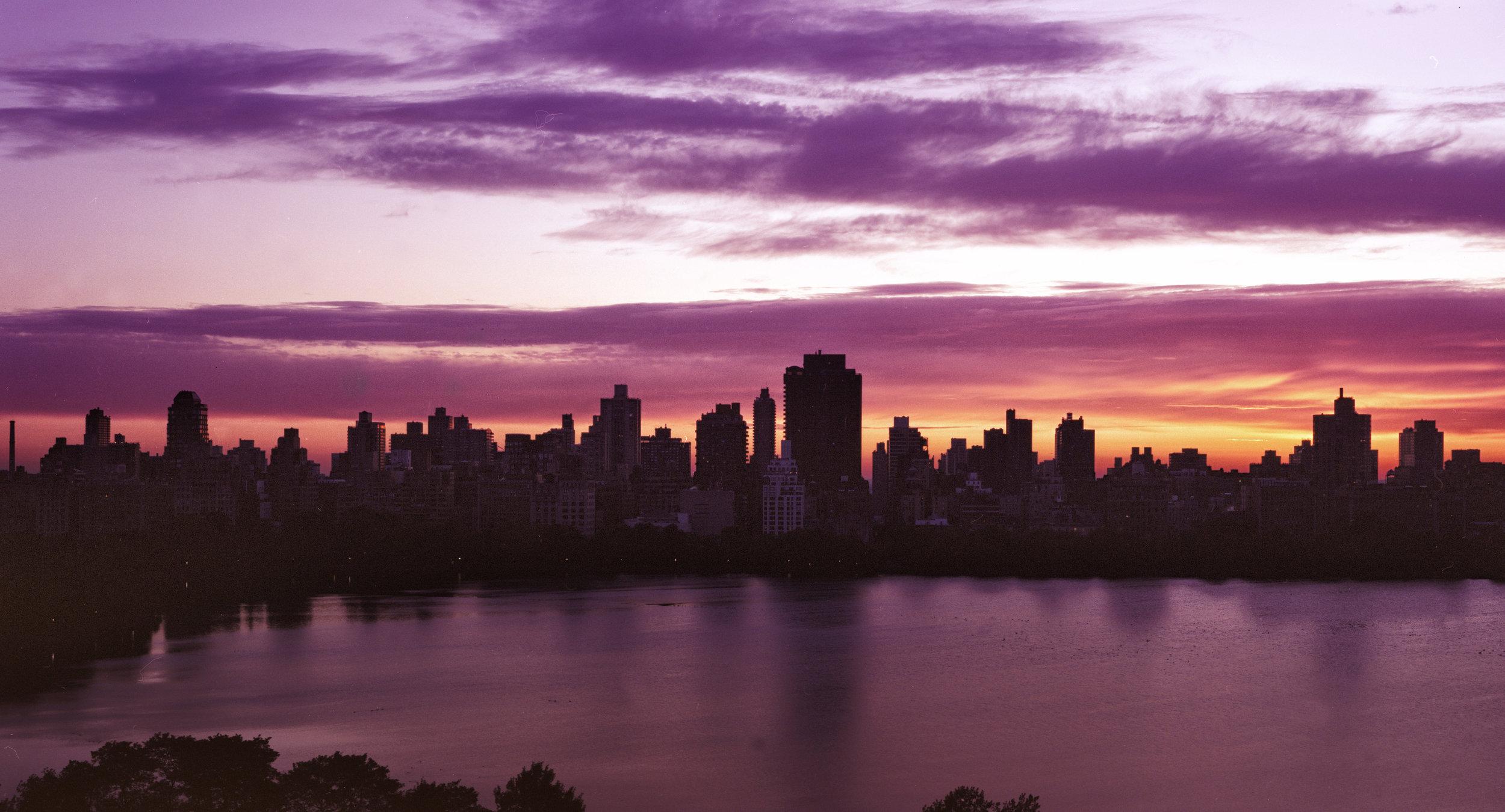 Sunrise @ Central Park - NYC, USA 1998