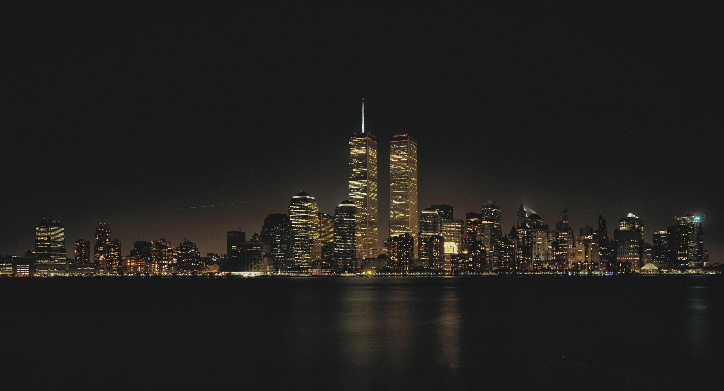 Manhattan Skyline - NYC, USA 1998