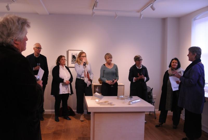 Borderlands, launch exhibition at Fen Ditton Gallery