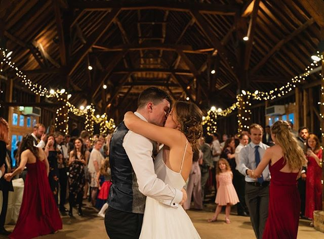 That barn though :) amazing venue. Amazing couple!! This was pretty stunning