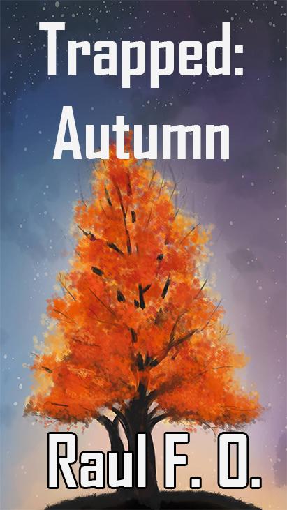Trapped: Autumn Smartphone Wallpaper
