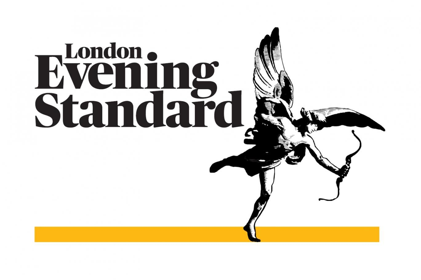Front Page of the London Evening Standard