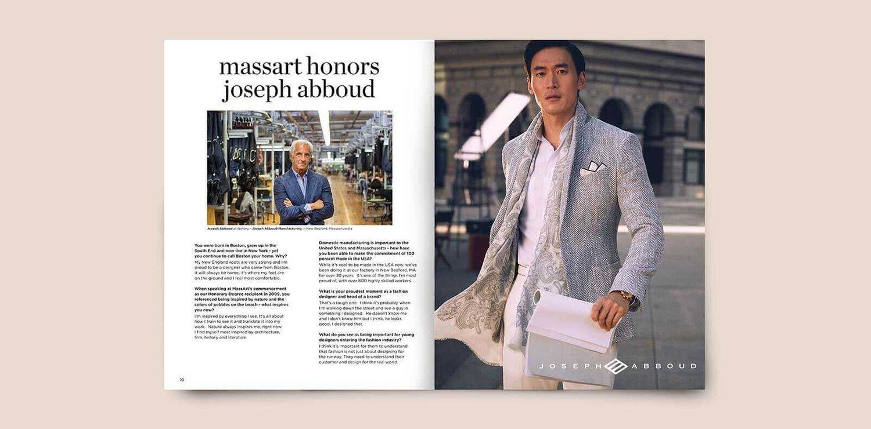 Massart Print Lookbook Lvgworks