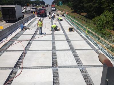 Georgia DOT and Massana using Precast Deck Panel to Accelerate Rehabilitation of I-20 Bridges