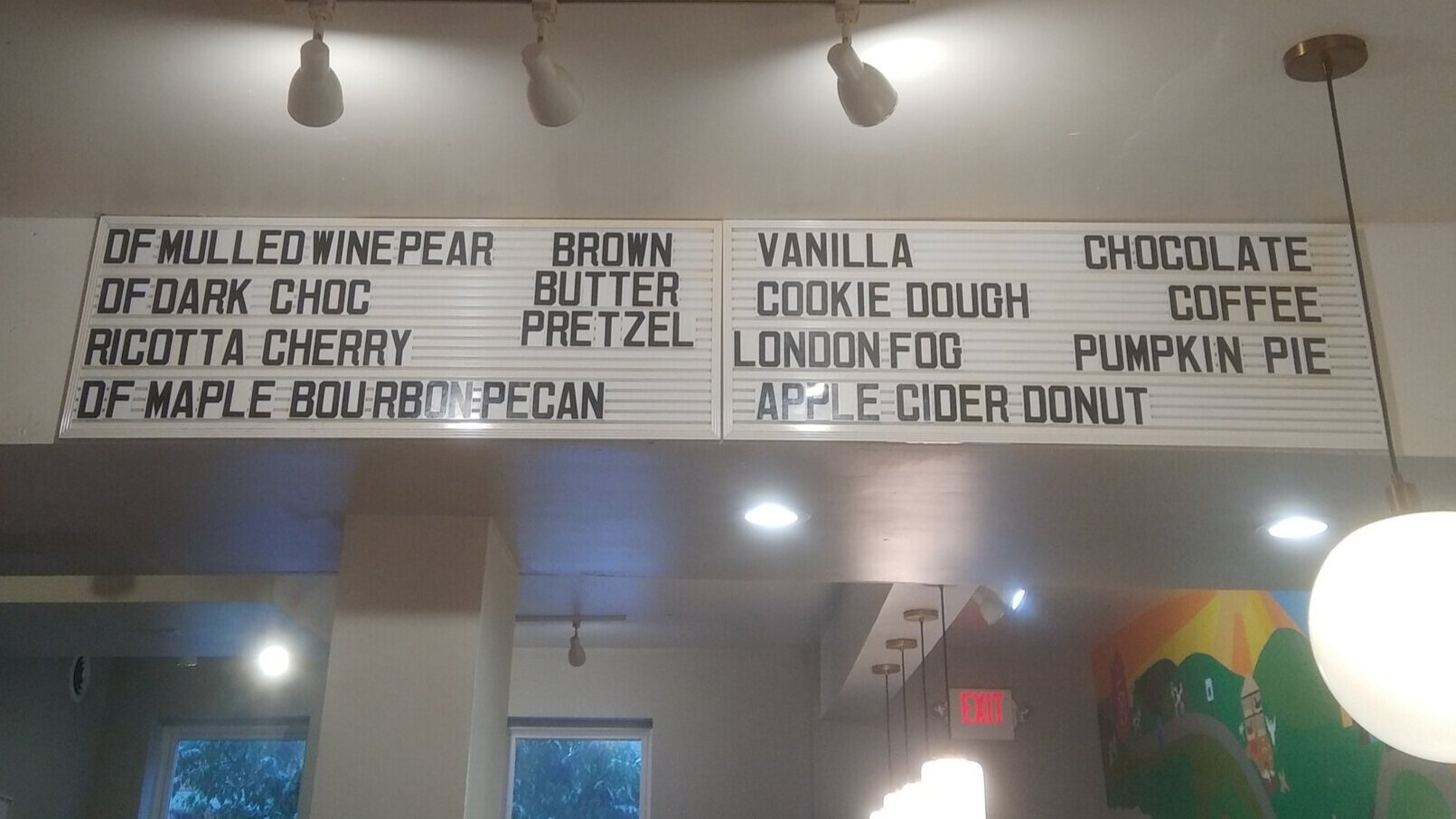 My goal? Try all the ice cream flavors here.