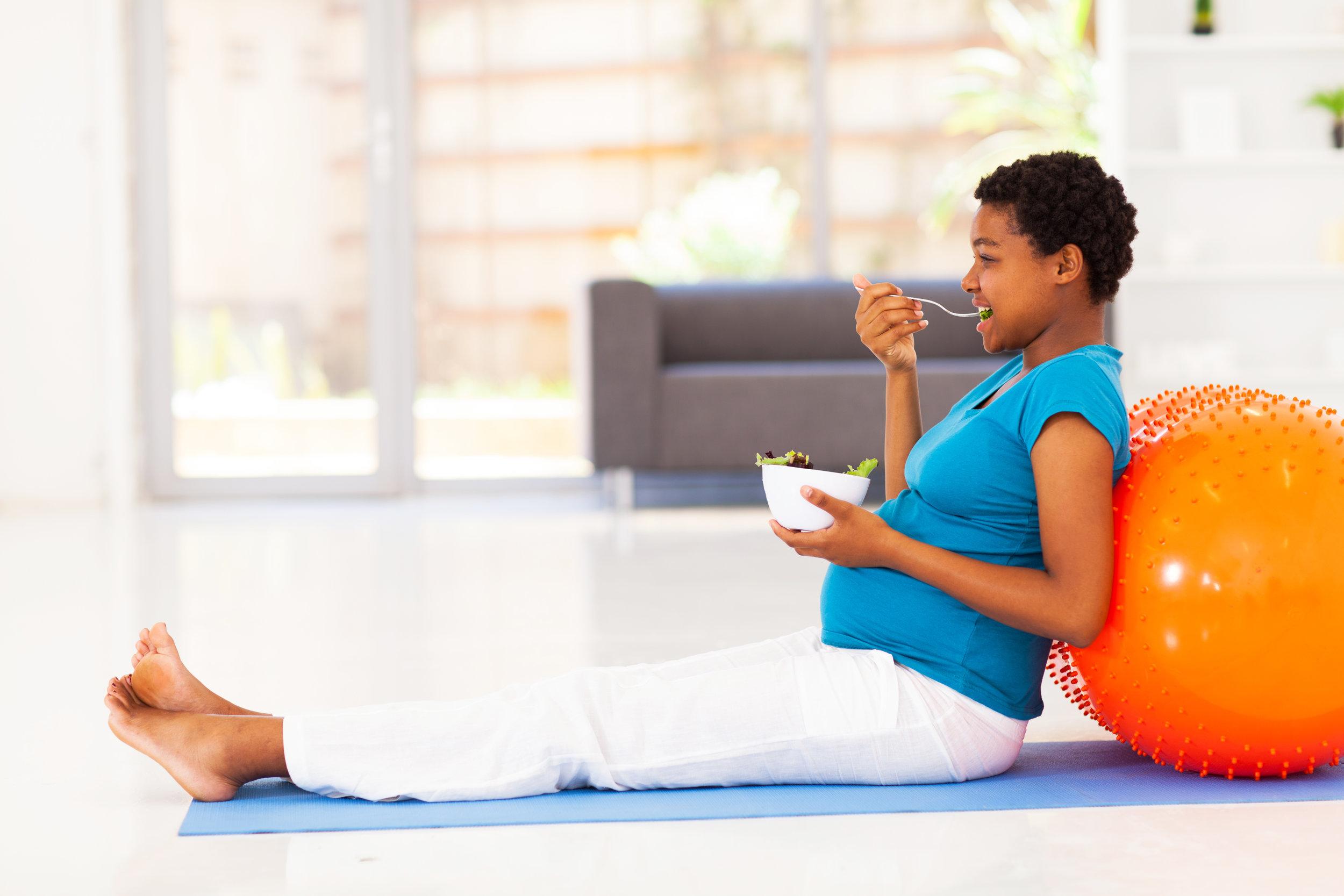 BWFS Image Healthy Pregnant Lady with Yoga Ball.jpg