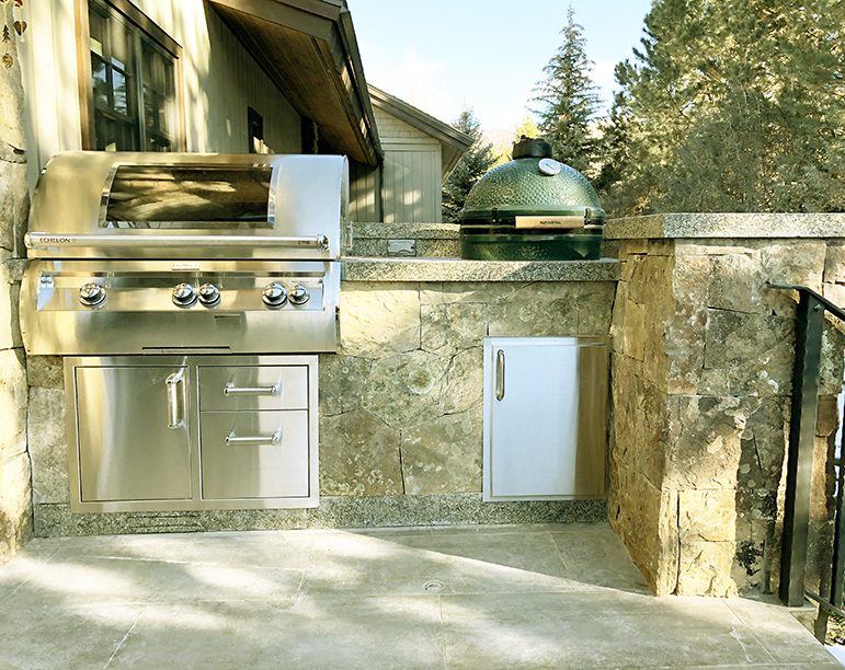 Private Residence Grill Station Alignment Study - Woody Creek, Colorado