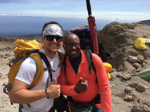 With our lead guide Joshua...this guy was amazing!