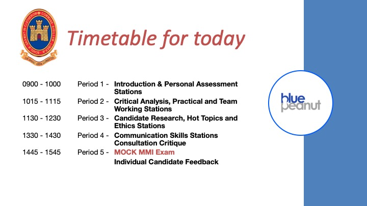 The course content and timetable can be customised based on the needs of the students and school.