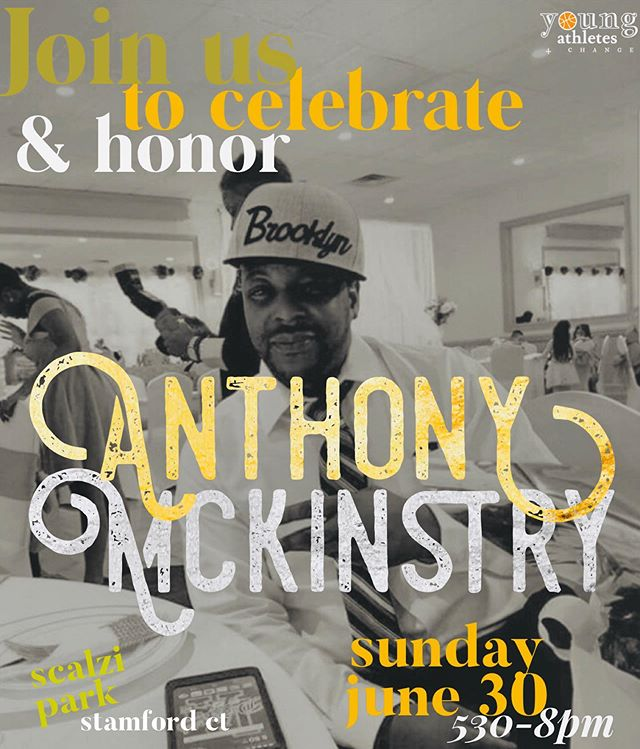 🧡🔅🎷✨🥁💡🙏🏾🔸 Sunday Service for Anthony DGP Mckinstry. . . 🔸This Sunday June 30th from 5:30-8:00pm at Scalzi Park in Stamford CT, we gather as a community in the spirit of peace & healing. Candlelit vigil & live music🔸 . . 🔸Bring instruments. Bring candles. Wear Orange.🔸 . . #JusticeForAnthony #SundayService #GunViolenceAwareness #ChangeTheConversation #StopShootingStartLiving #WearOrange #WearTheTruth #DogpoundTheLegendary