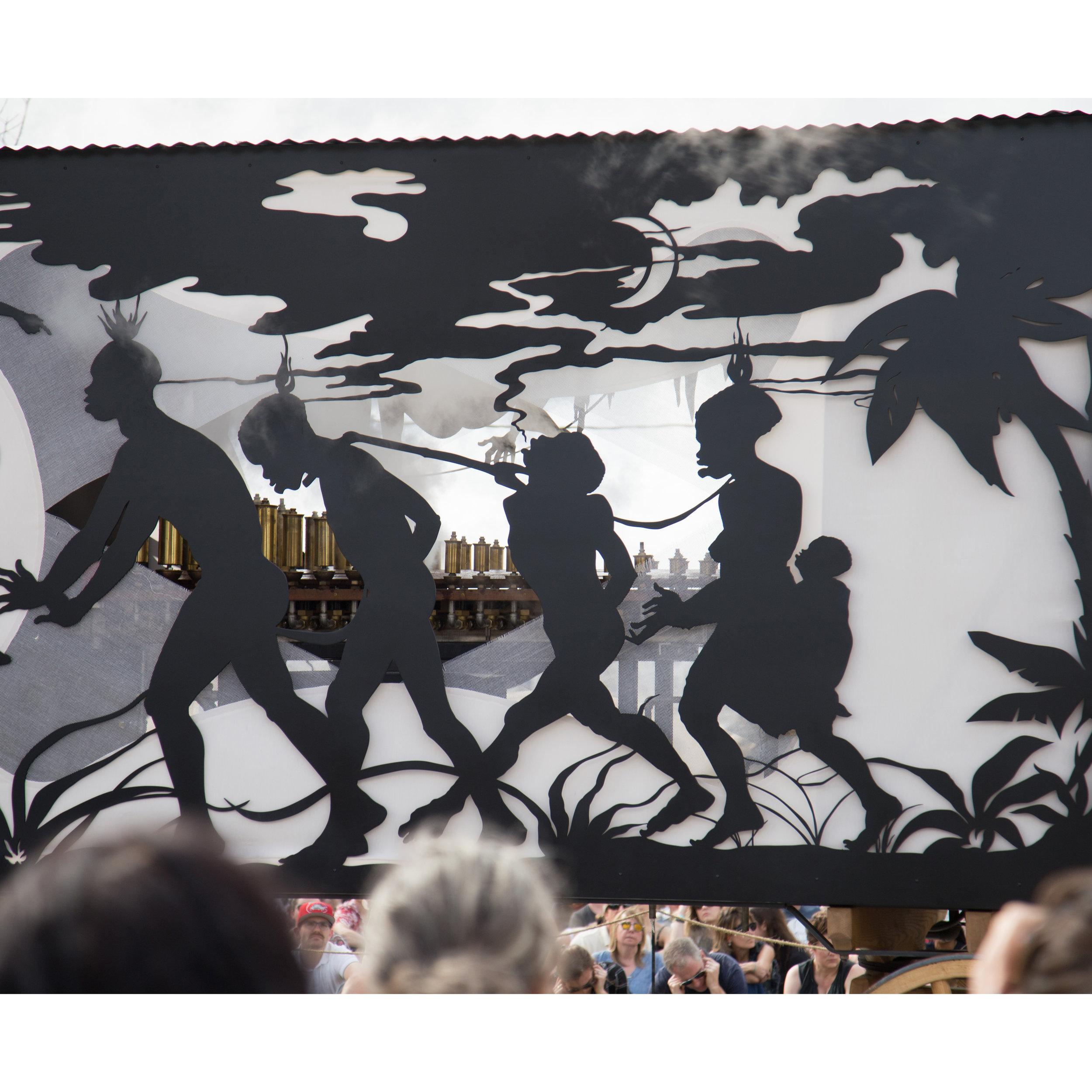 Kara Walker, The Katastwóf KaravanBlack Art in America - REVIEWProspect.4, New Orleans, LA