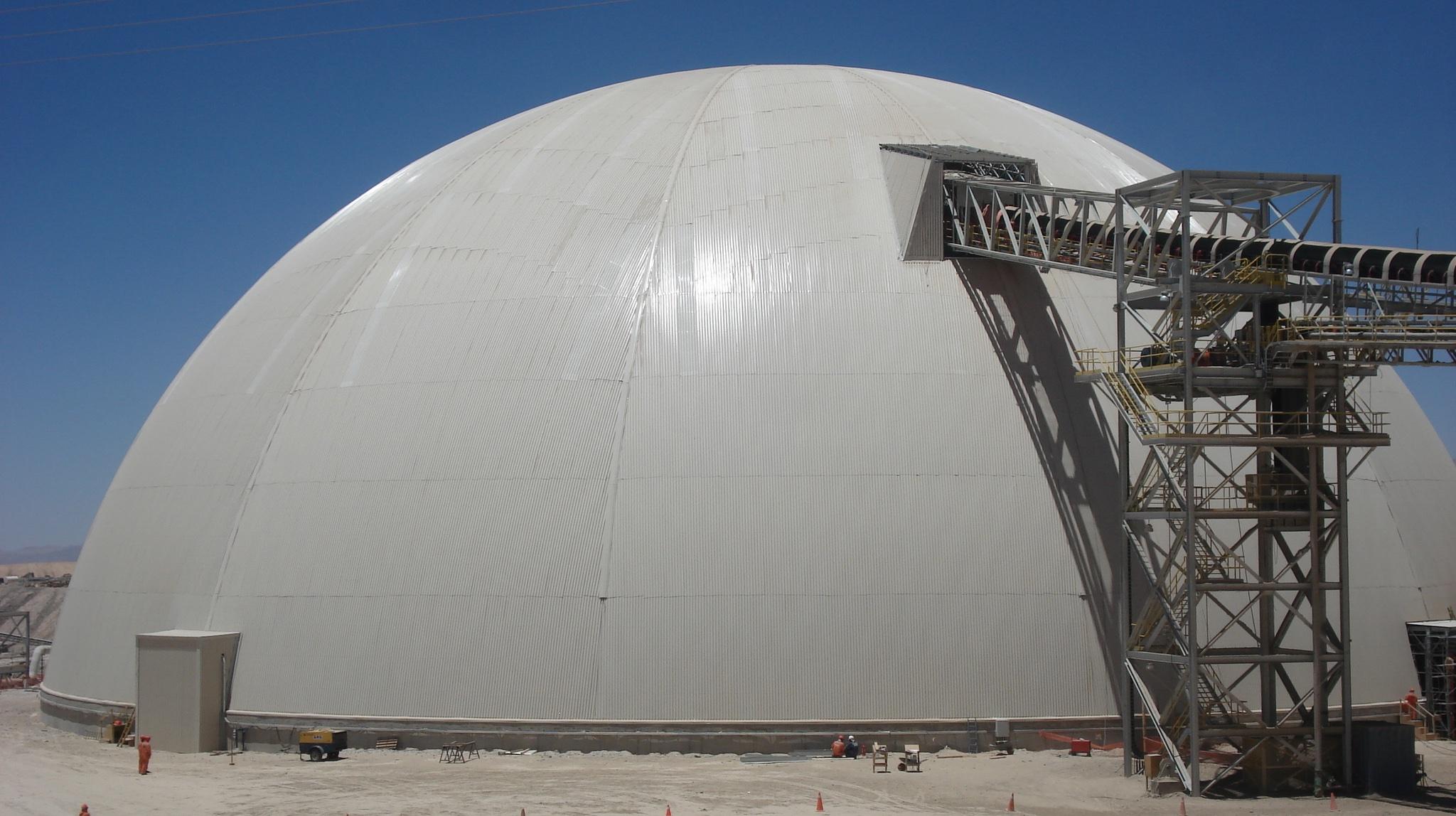 Zaldivar dome: 95M diameter