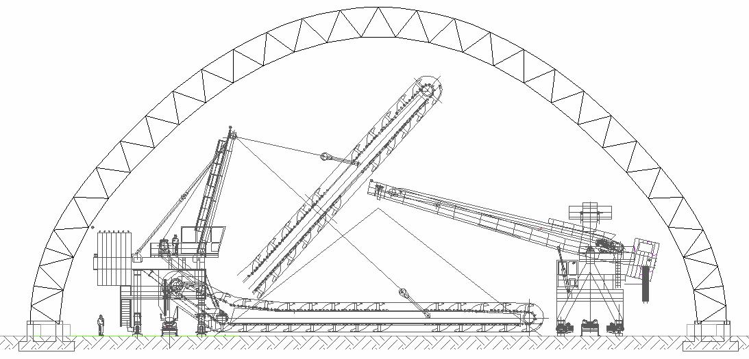 Curva Compuesta: Alternativo al anterior, cuando el espacio está limitado.