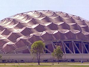 150m, Palacio de los Deportes