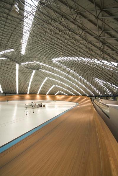 El Velódromo en México es otro ejemplo de un domo para uso deportivo construido para la comunidad.