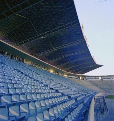 Estadio en Puebla para la Copa del Mundo