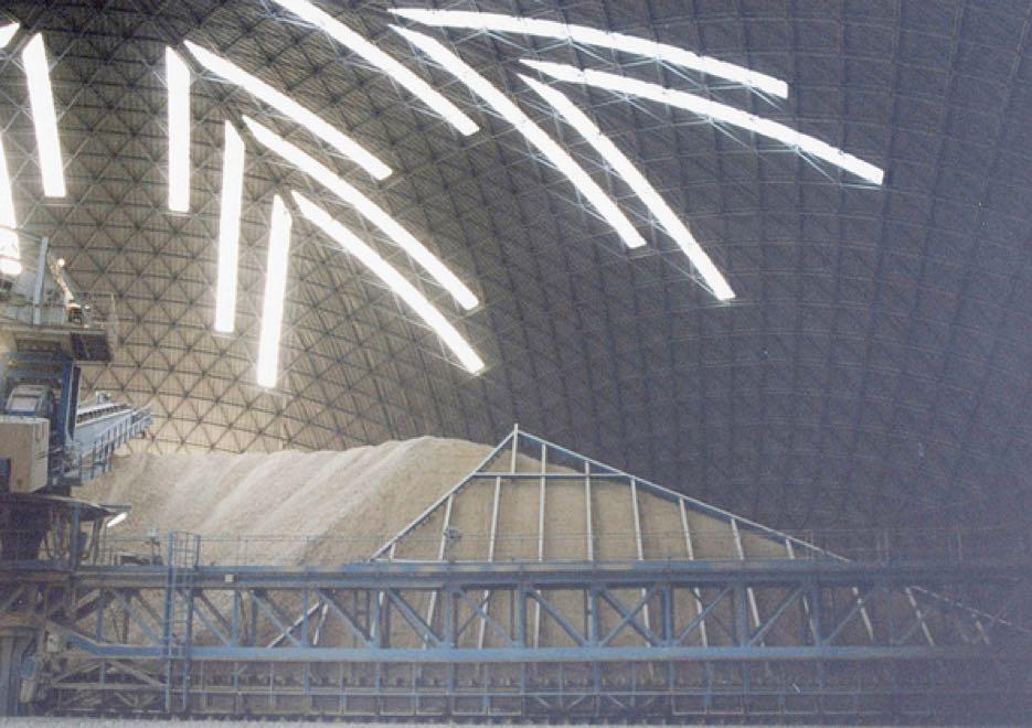 Interior view of 79m dome in Safi