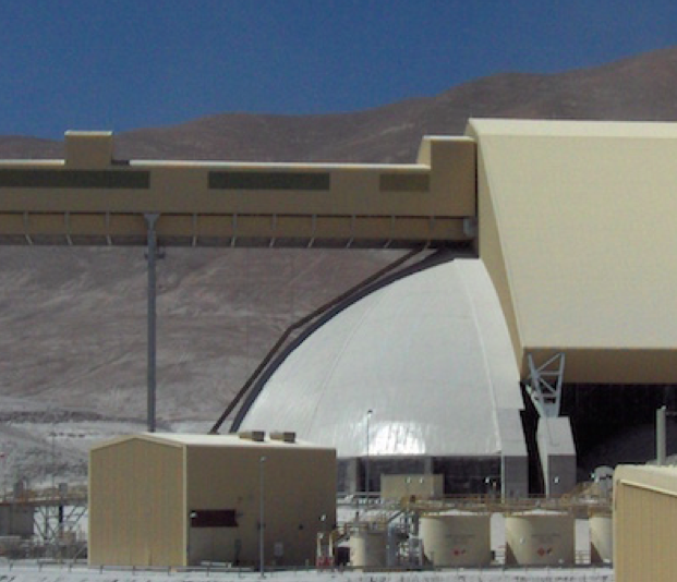 Bulk storage in the Andes