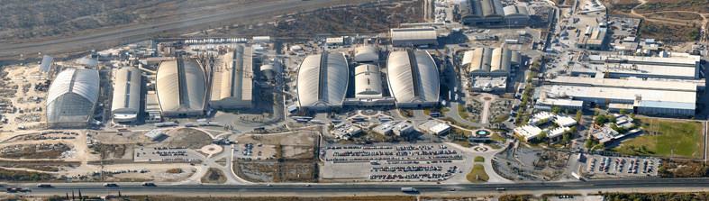 The Nemak Industrial Plant in Mexico has four super sized 224m Freedomes — a record-breaking expanse. These domes accommodate automobile parts manufacturing. Each one is identical in shape and built consecutively.