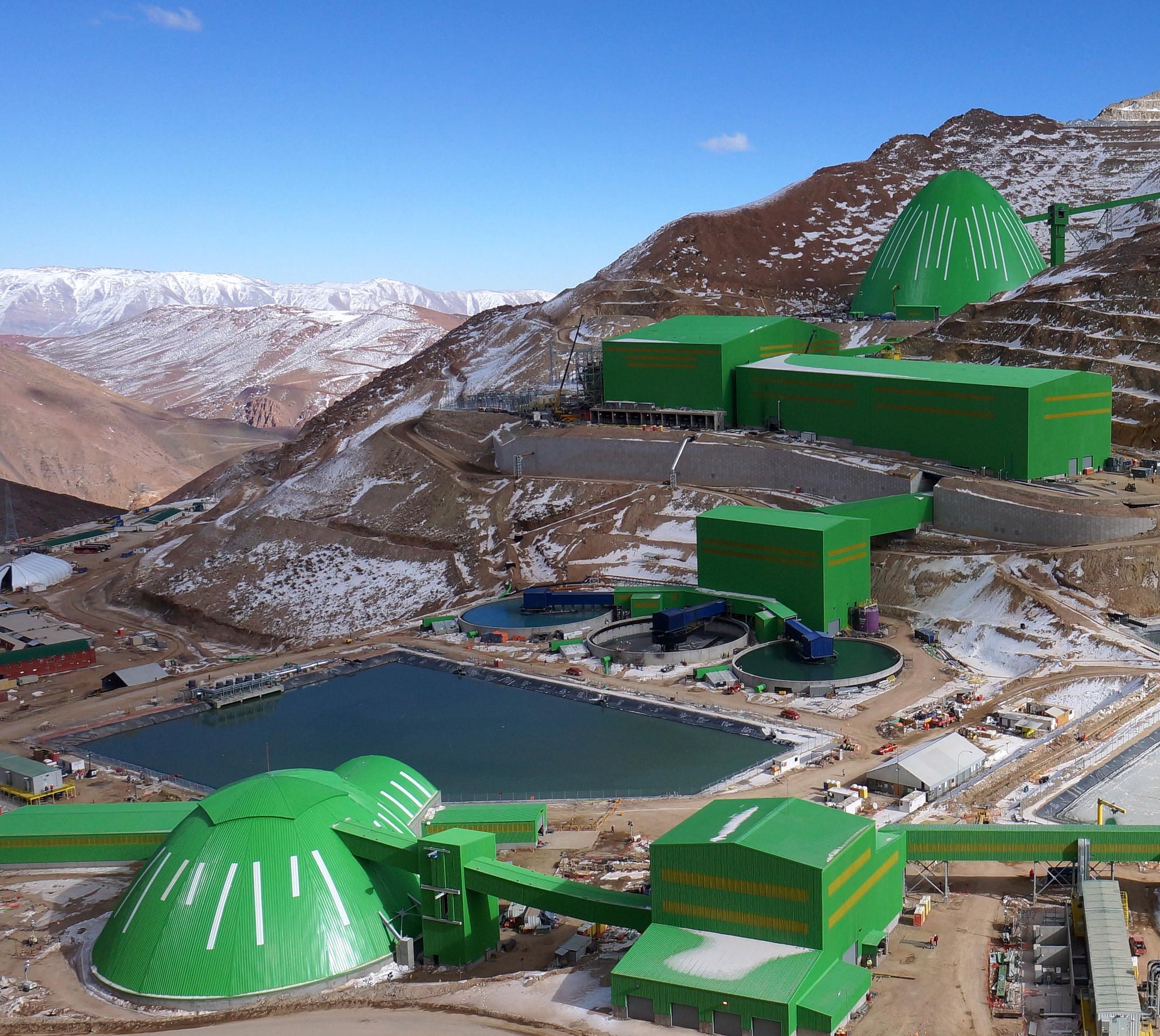 Fuertes vientos, cargas de nieve y pendientes a 4000m sobre el nivel del mar en los Andes chilenos