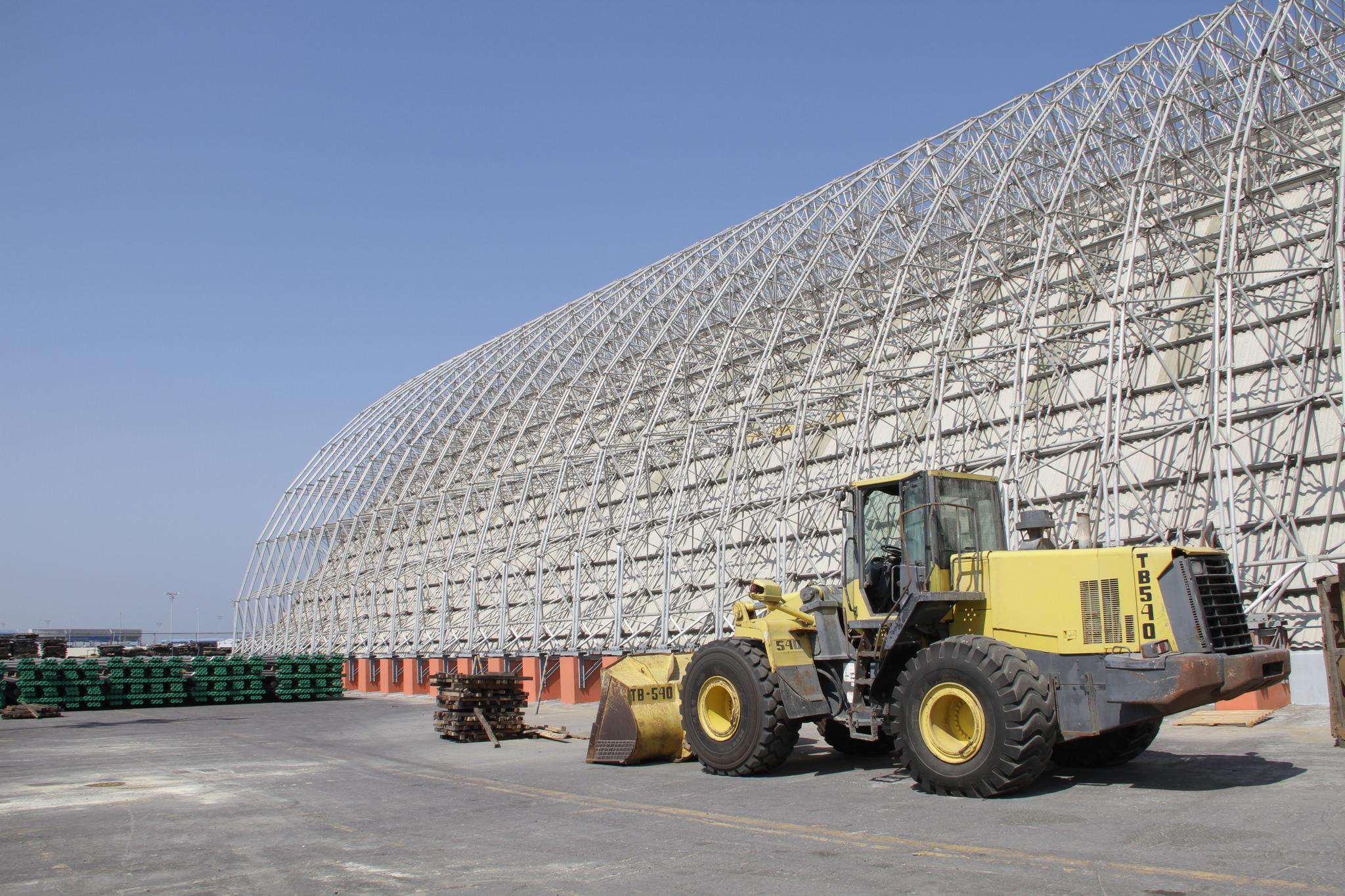 Urea dome, 122m x 54m, Veracruz, Mexico