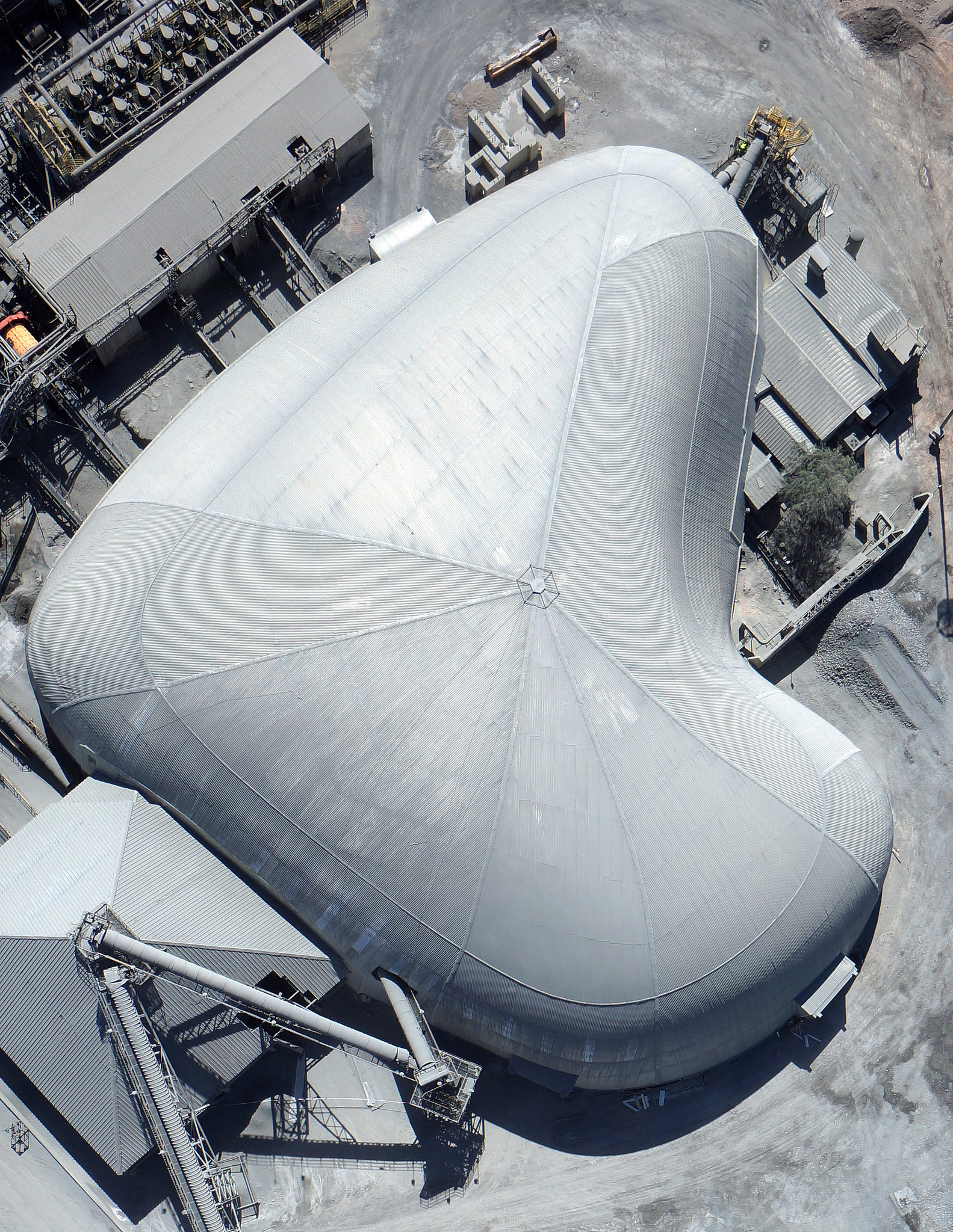 Aerial view of the Coemin Freedome® in Chile.