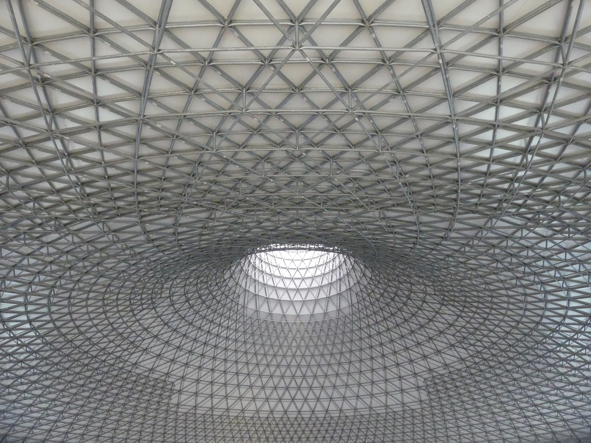 Geometrica structural system is ideal for surfaces of double curvature.