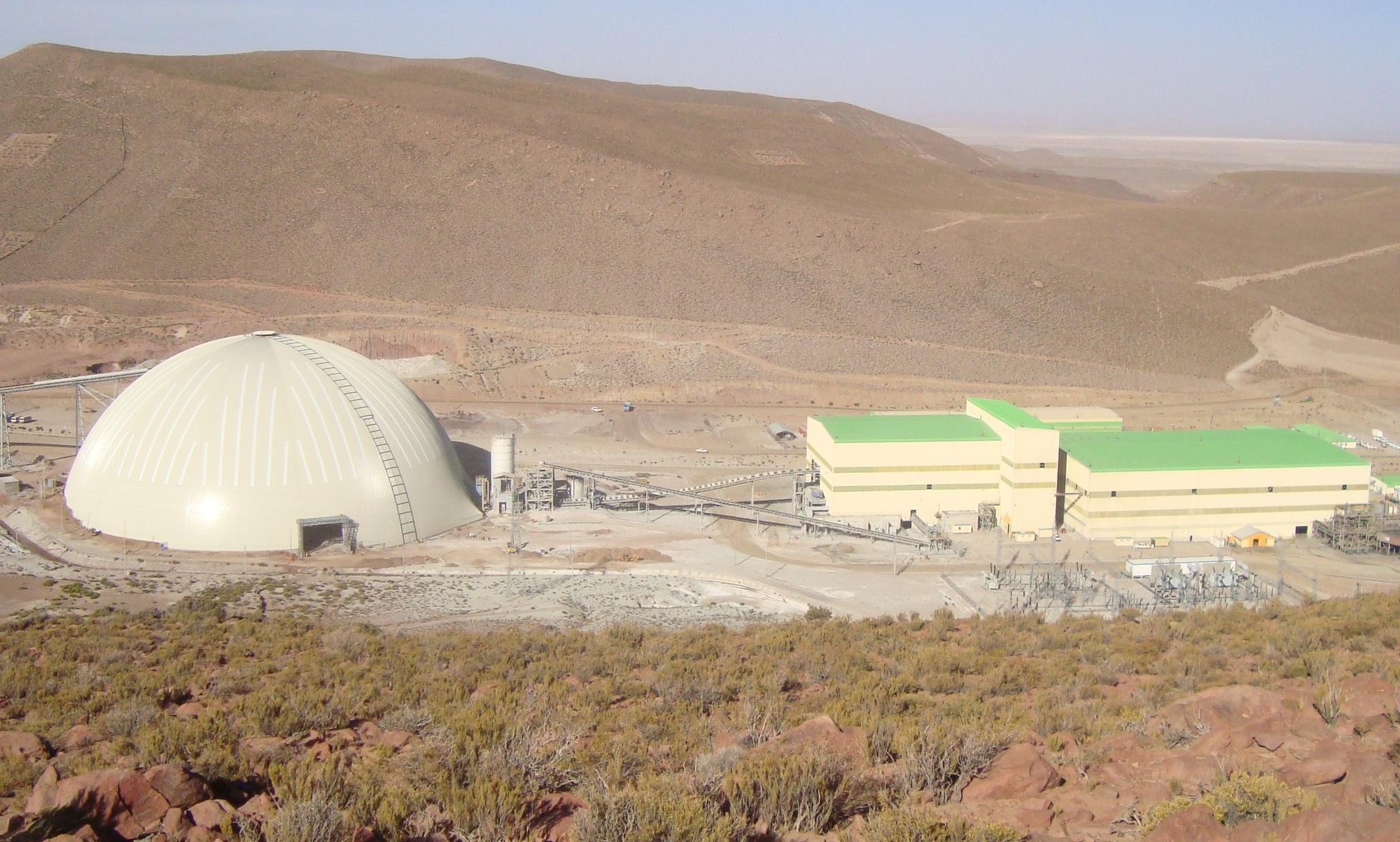 142m span Freedome at San Cristobal mine in Bolivia