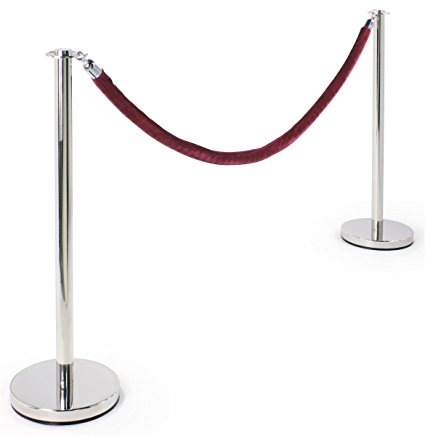 Stanchions with velour rope and red carpet for the win! - For a true VIP red carpet experience, stanchions and a red carpet comes with every booking, if requested.Place them at the Photobooth to control or direct a line, a VIP area, or simply for aesthetics.