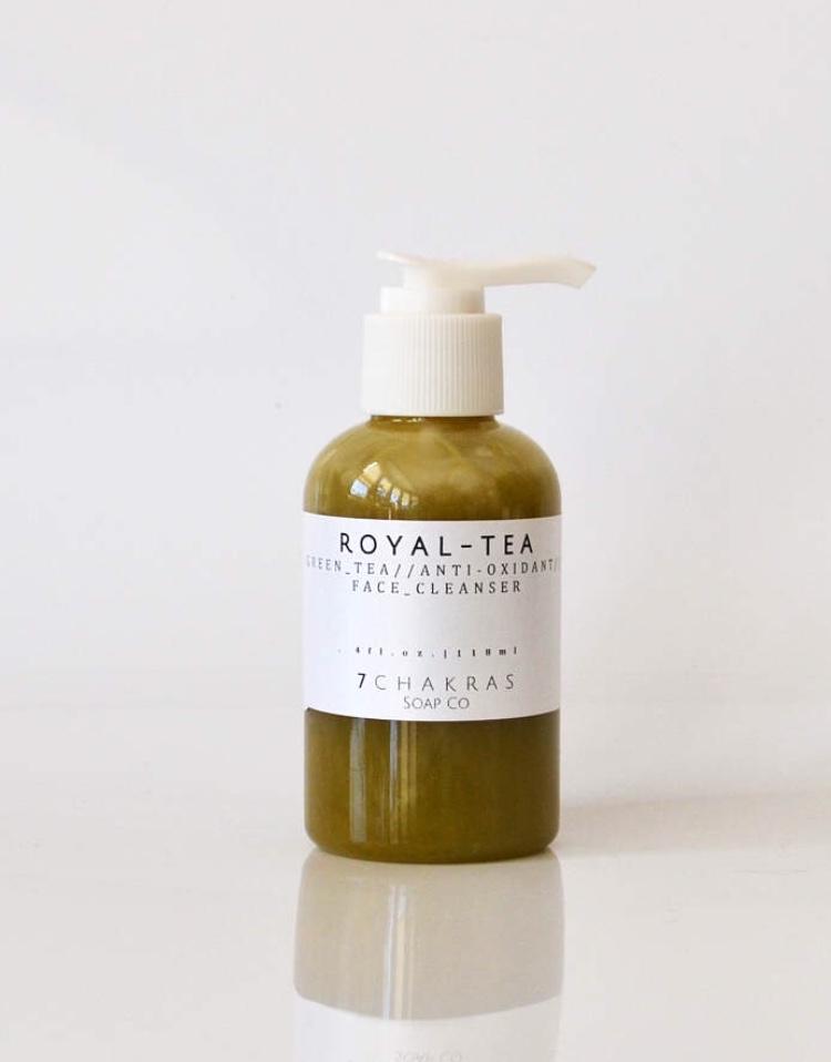 7Chakras Soap Co,  Green Tea Face Cleanser