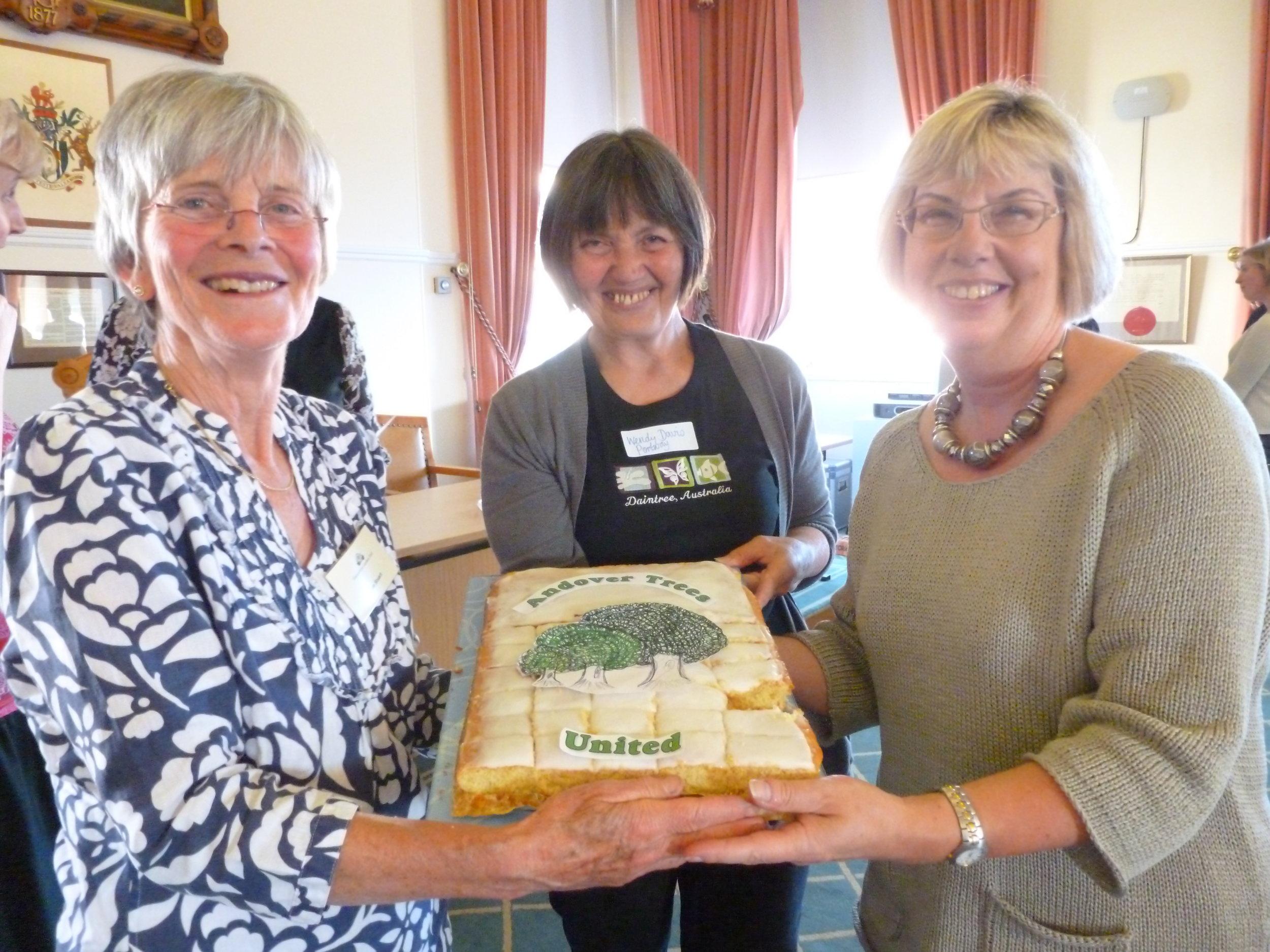 2012 Hampshire Grdens Trust celebrates Andover Trees United.JPG