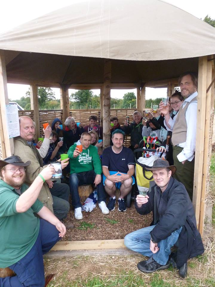 2014 Summer Community rallies to rebuild shelter after vandalism damage.jpg