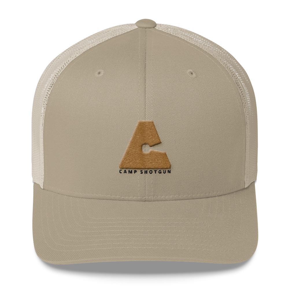 Camp Shotgun Logo Trucker Hat