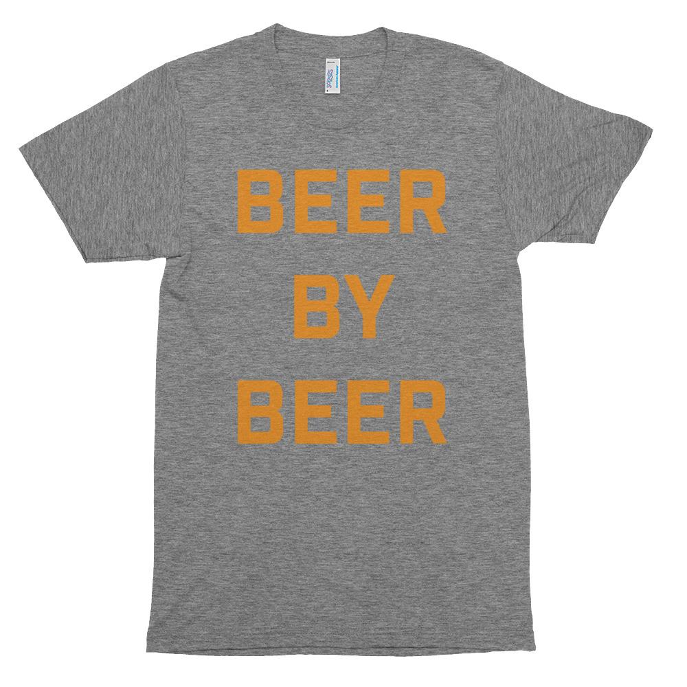 BEER BY BEER TRI-BLEND TEE