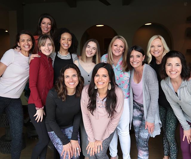 What a great morning. Thank you Lord for these women in my life. Added bonus was some time with Pastor Debbie Morris. So fun. This group is deep & I love me some deep.