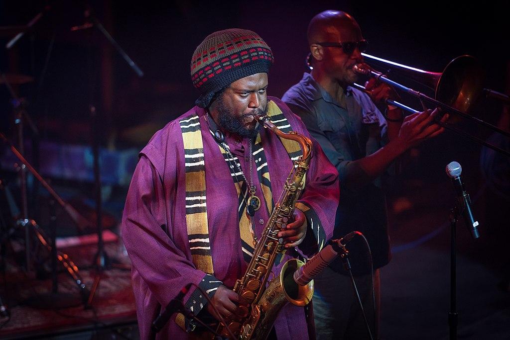 Kamasi Washington in Concert; Photo by Steven Pisano