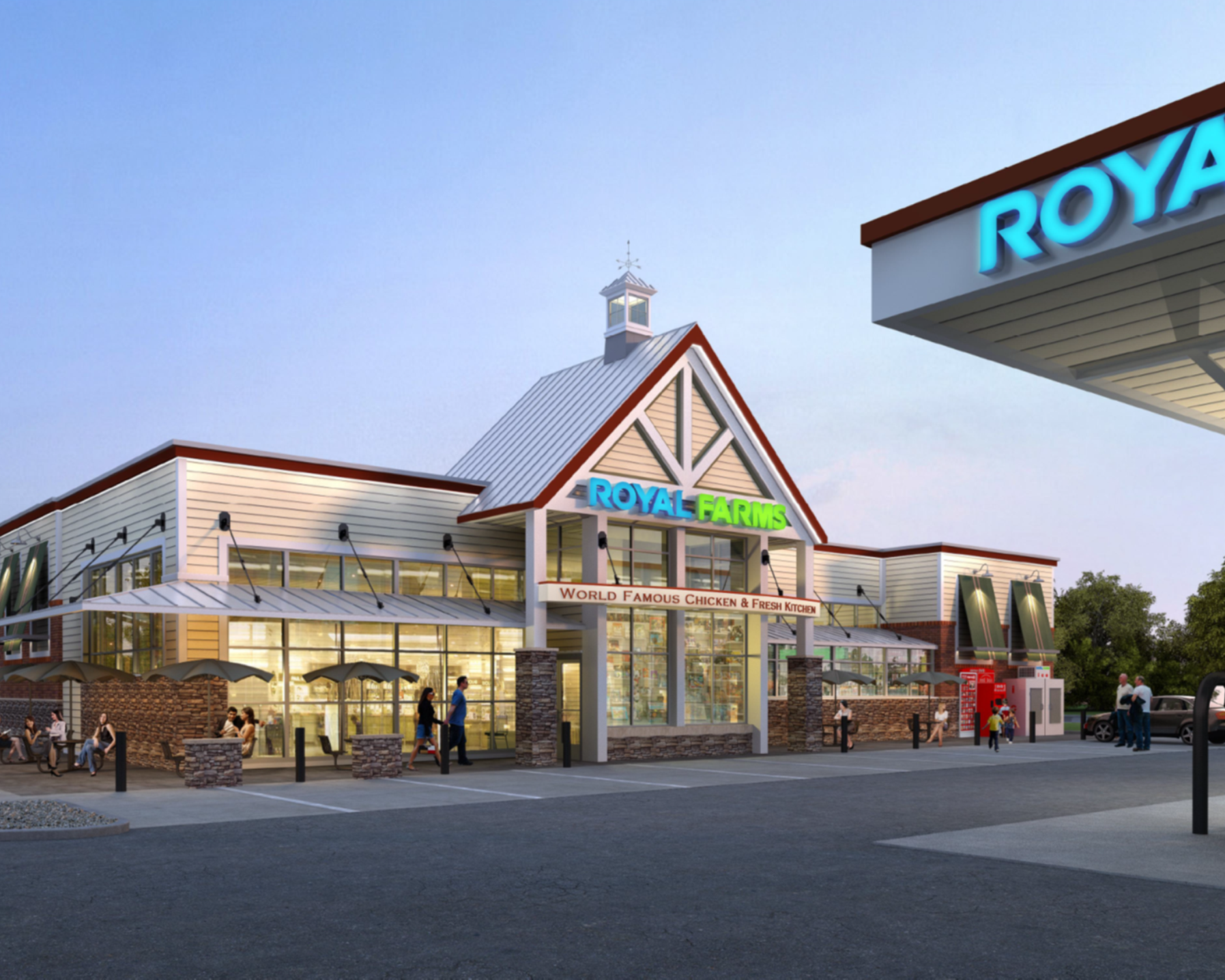 ROYAL FARMS & 18,000 SF Retail Development - Ground up DevelopmentChurchton, MD