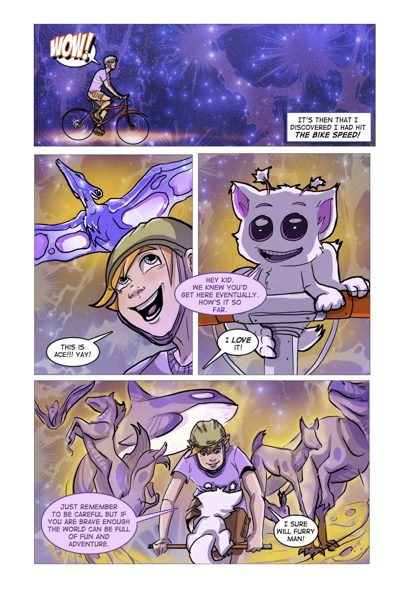 Little Heroes Page 3