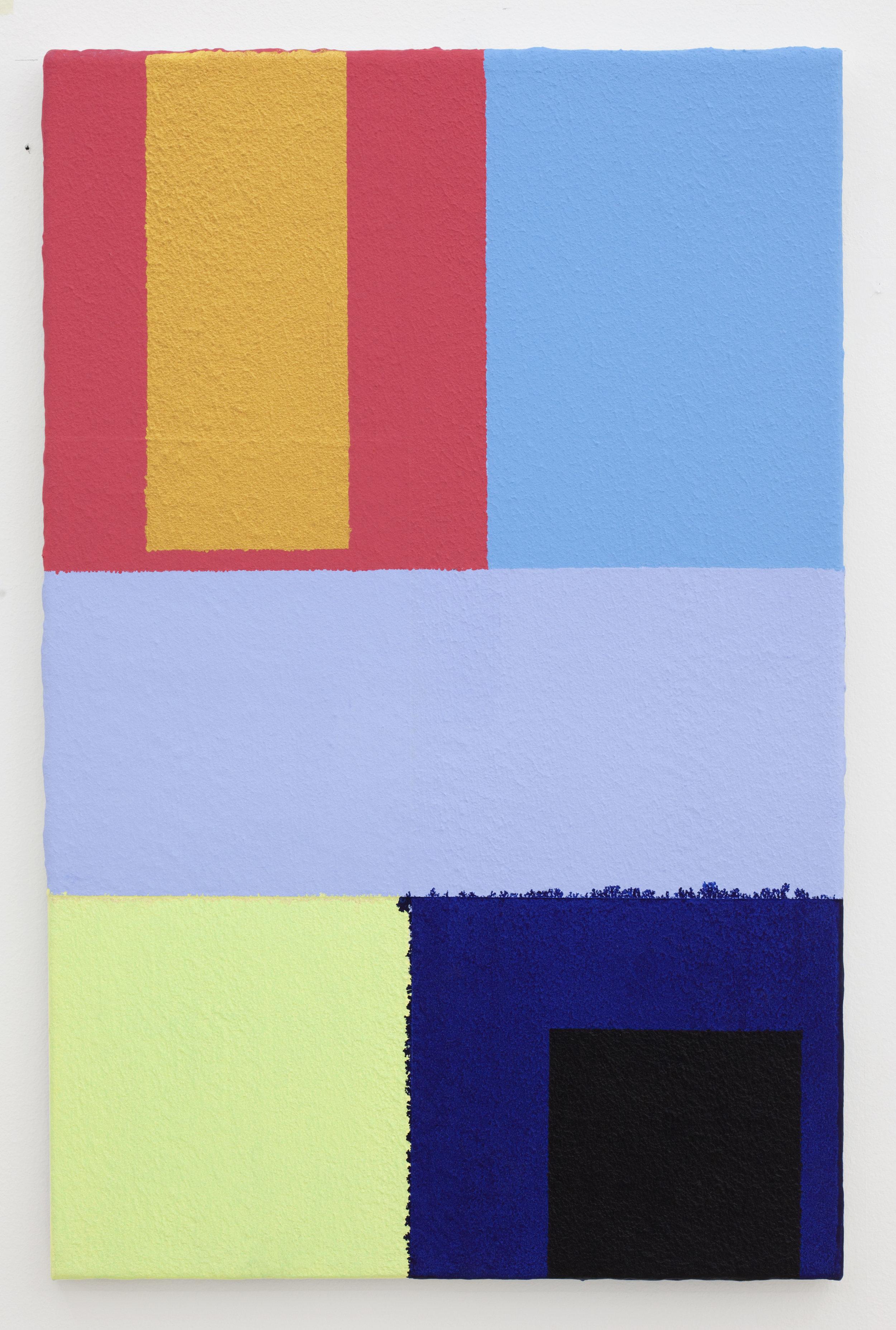 - 38. Bodil Nielsen. Untitled. 2012. Acrylic on canvas. 60 x 45 cm.