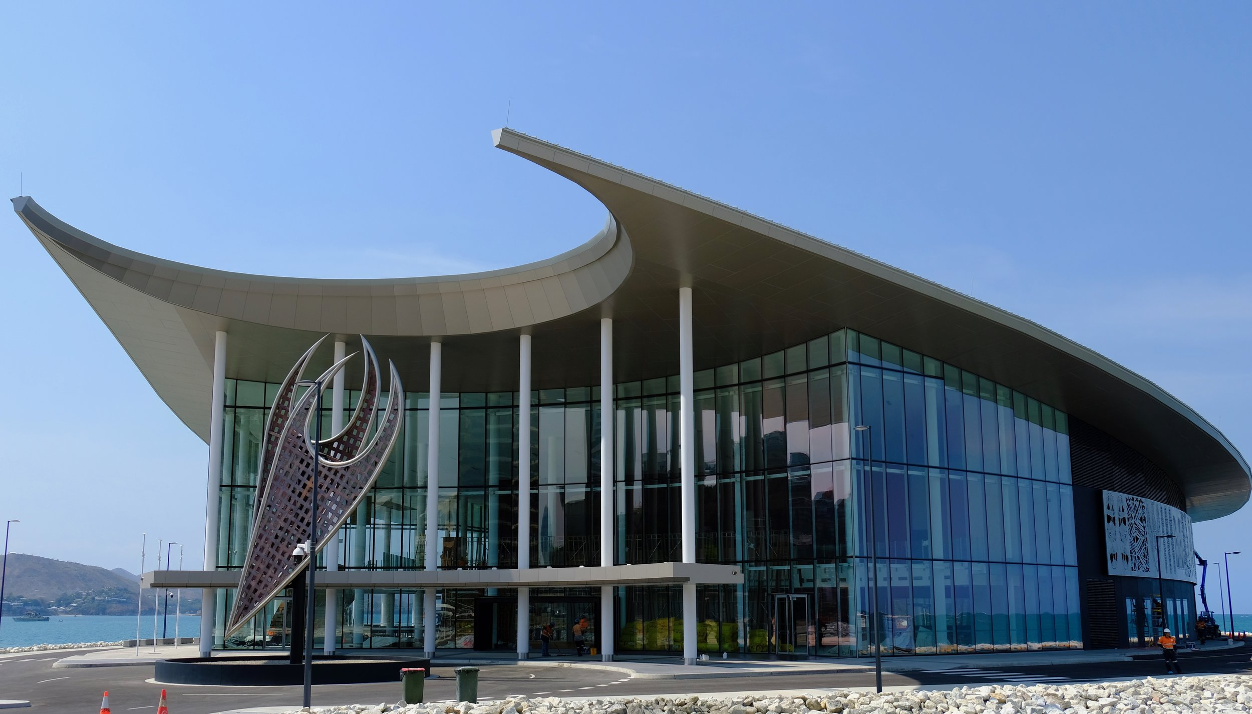 The APEC Haus in Port Moresby