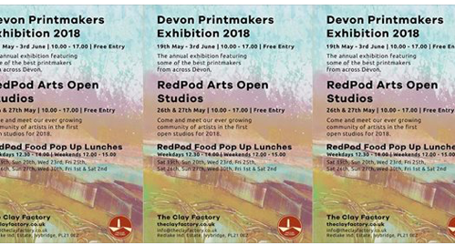 - Devon Printmakers at RedPod Arts, IvybridgeMay 2018