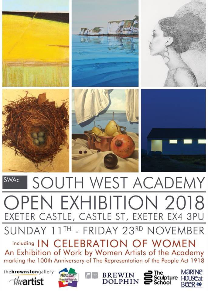 - South West Academy Open Art Exhibition at Exeter Castle11 - 23 November 2018