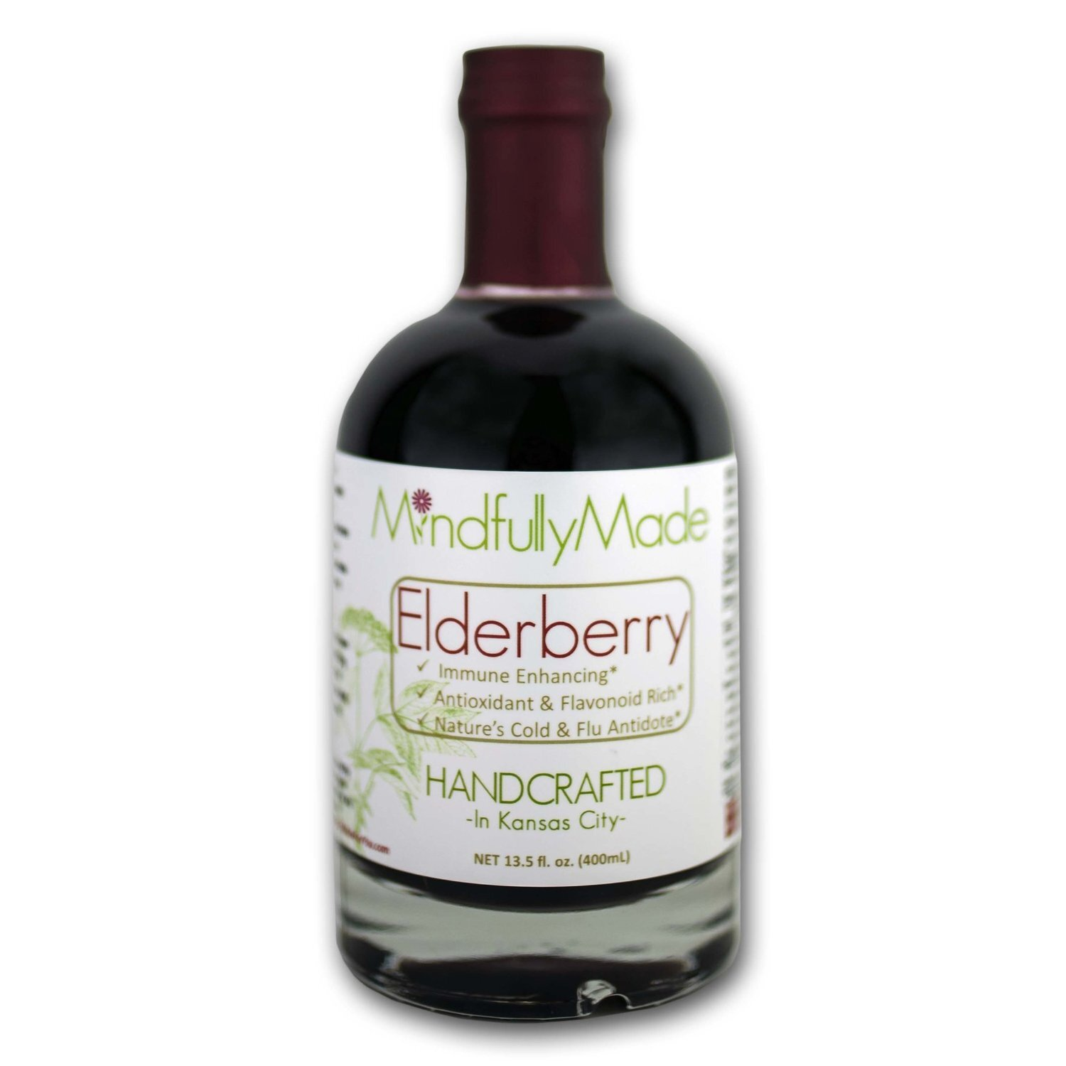 Elderberry Syrup Raw Honey