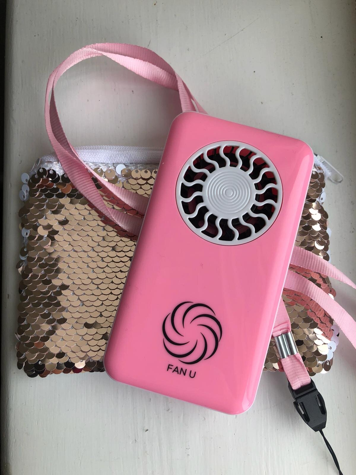 Ready,Steady Lets go Pink! - BUY YOUR SPECIAL EDITION PINK FANU, PINK LANYARD AND STUNNING SEQUIN ROSE GOLD AND WHITE REVERSIBLE POUCH £19.99 INCLUDING P&Phttps://www.fanu.co.uk/shop-now/gopink