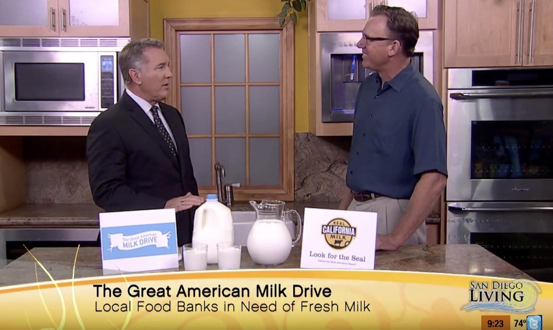 San Diego Living featuring California Milk Advisory Board with Frank Konyn .